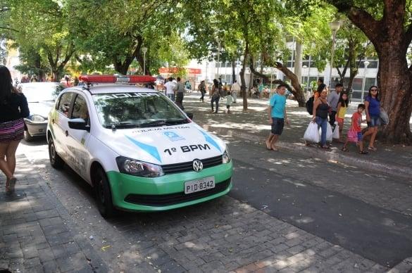 PM mostra redução no roubo de carros e assaltos ao comércio