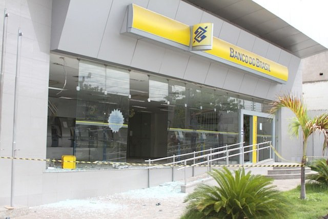 Assalto Banco do Brasil São Cristivão (Crédito: José Alves Filho)
