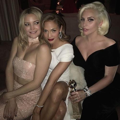 Jennifer Lopez , Kate Hudson e Lady Gaga (Crédito: Reprodução)