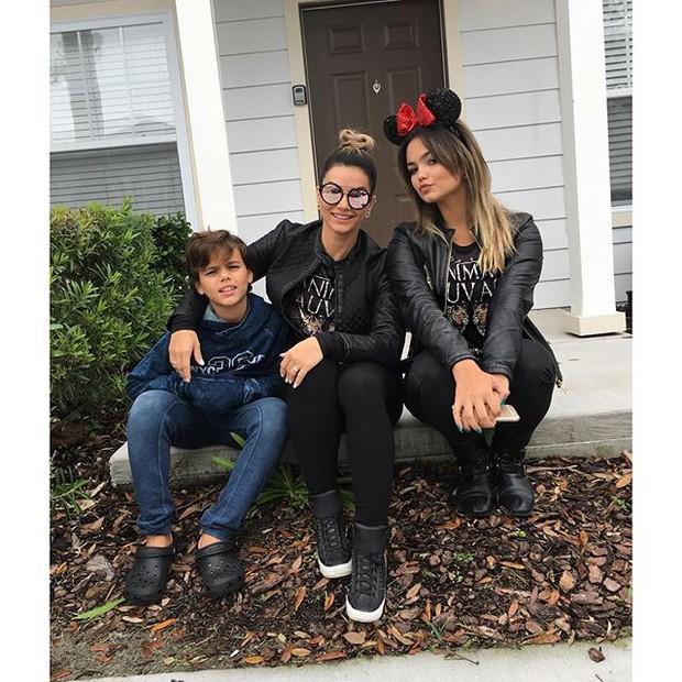 Kelly Key com a sua família (Crédito: Reprodução/Instagram)
