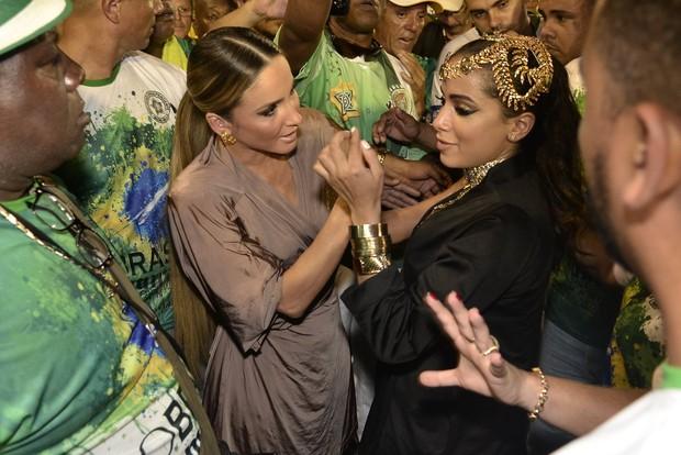Anitta  e Claudia Leitte (Crédito: Foto: Roberto Teixeira / ego)