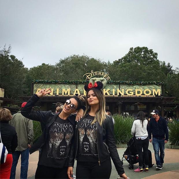 Kelly Key com a filha  (Crédito: Reprodução/Instagram)