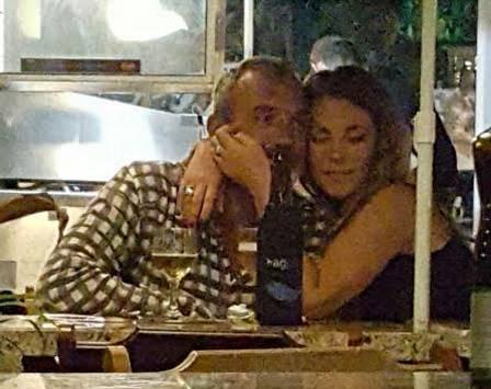 Paolla Oliveira e o namorado (Crédito: Reprodução)