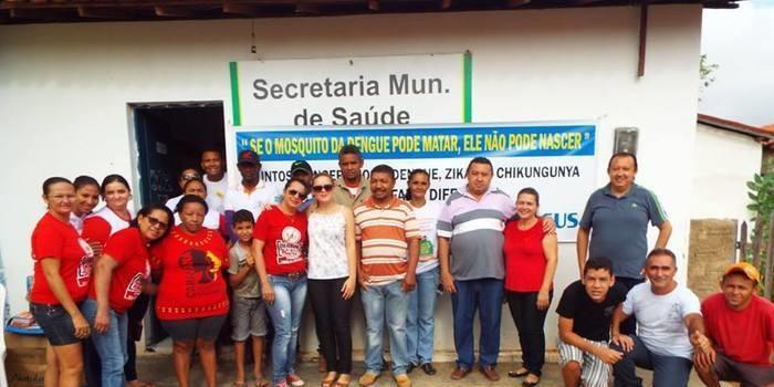 Cajazeiras do Piauí realiza mutirão contra mosquito Aedes aegypti