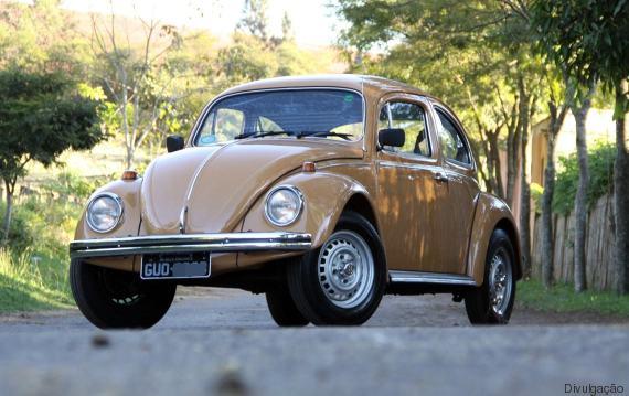Volkswagen Fusca (Crédito: Reprodução)