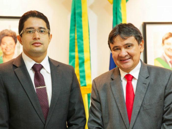 Nuno Bernardes e Wellington Dias  (Crédito: Jorge Henrique Bastos)