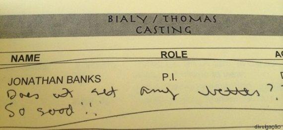 curiosidades incríveis sobre o elenco de Breaking Bad  (Crédito: Divulgação)