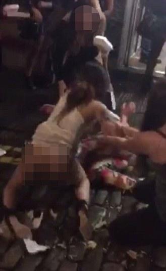 Briga entre mulheres chamou atenção na China  (Crédito: Reprodução)