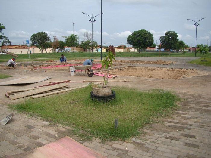 Duas academais estão sendo construídas no Lagoas do Norte