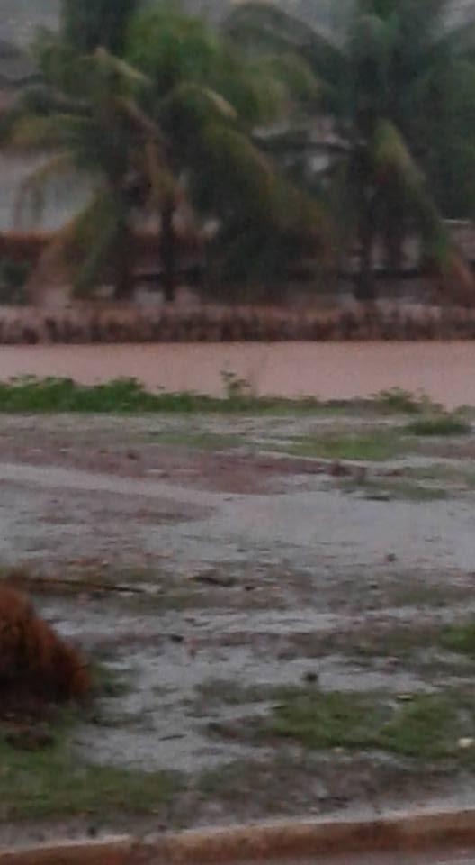 Chuva em Cajazeiras do Piaui (Crédito: Imagens de redes socais)
