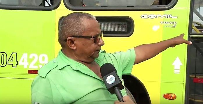Motorista fala sobre o ocorrido (Crédito: Reprodução/TV Meio Norte)