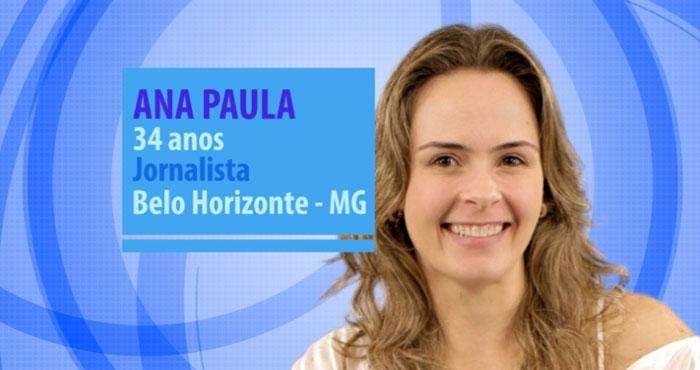 Ana Paula  (Crédito: Divulgação )