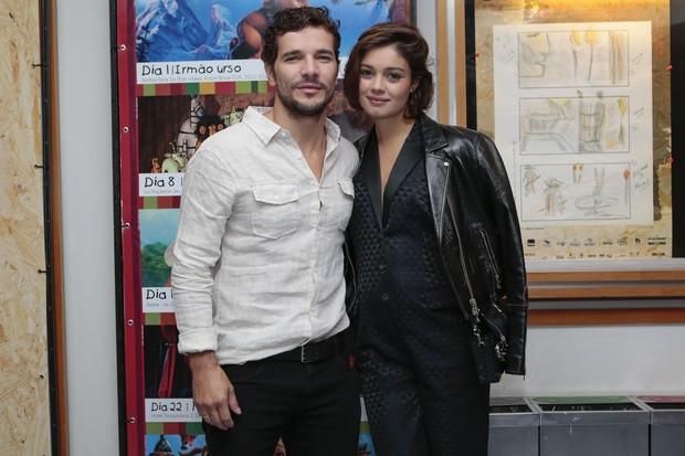 Sophie Charlotte e Daniel Oliveira (Crédito: Reprodução)