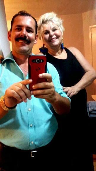 Vovó Naná e Luciano (Crédito: Reprodução)