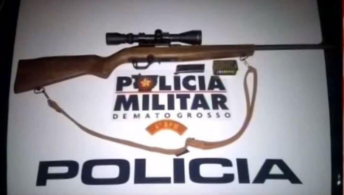 Pistola usada no crime (Crédito: Reprodução)