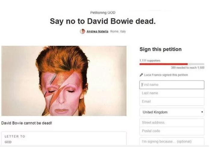 David Bowie (Crédito: Reprodução)