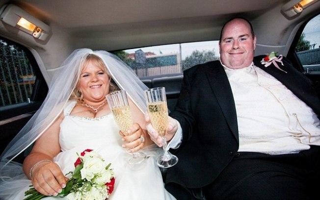 Foto do casamento que causou decepção ao casal