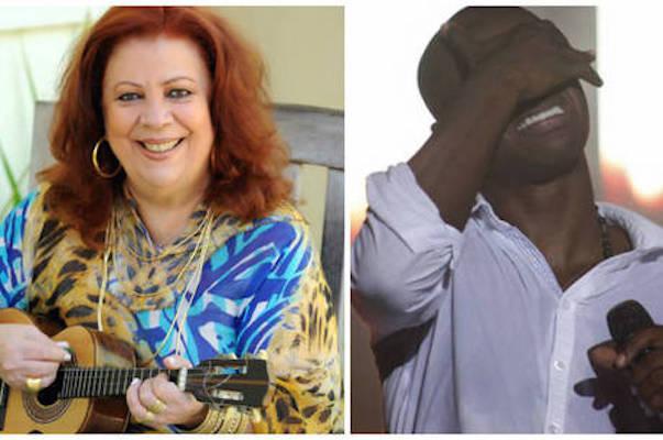 Beth Carvalho e Thiaguinho (Crédito: Reprodução)