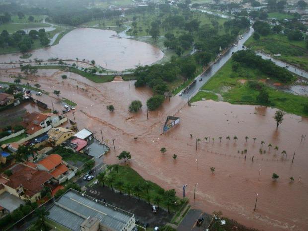 Chuvas em Mato Grosso do Sul (Crédito: Reprodução)