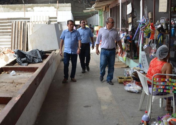 Prefeito visita Mercado do São Joaquim (Crédito: Assessoria)