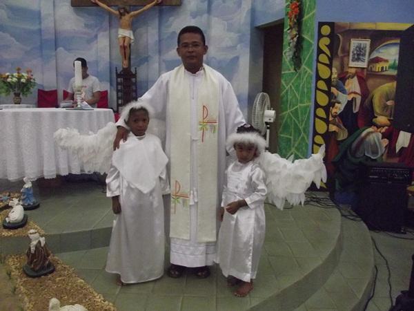 Padre Francisco, que foi vítima de assalto