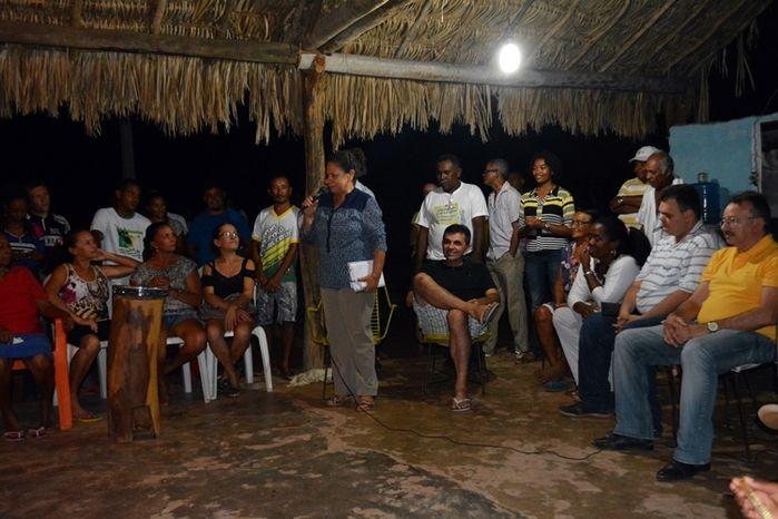 Regina Sousa participa de roda de conversa com quilombolas no PI - Imagem 1