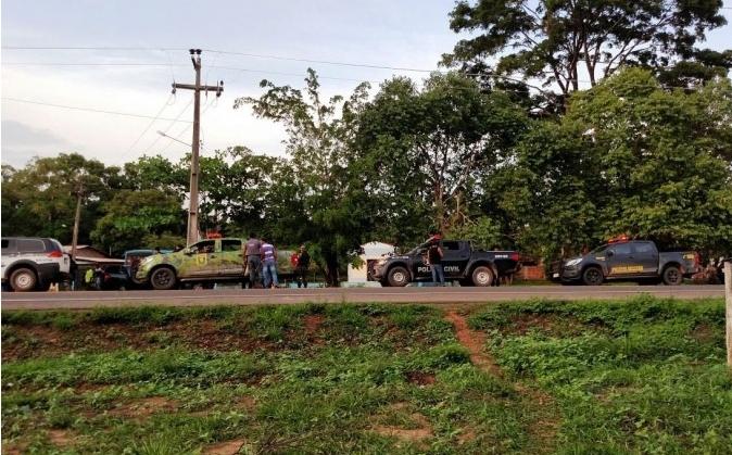 Operação aconteceu no interior do Maranhão