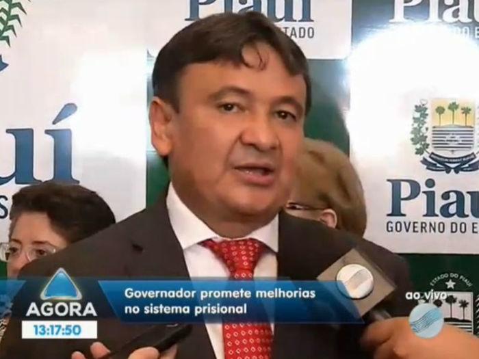 Wellington Dias  (Crédito: Reprodução TV Meio Norte)