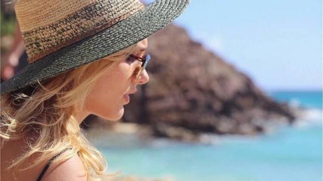 Sasha curte praia  (Crédito: Reprodução/ Instagram )