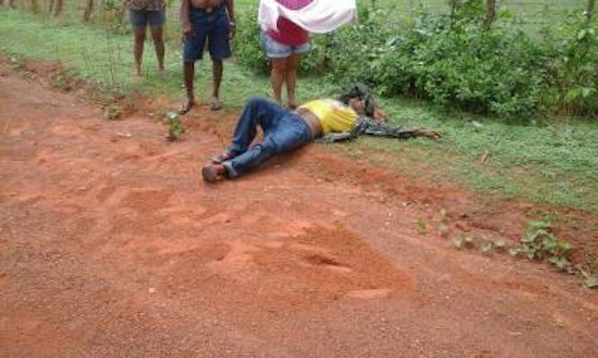 Homem ficou ferido após acidente (Crédito: Reprodução)
