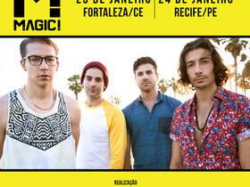 Banda MAGIC! desembarca em Fortaleza neste sábado (23/01)