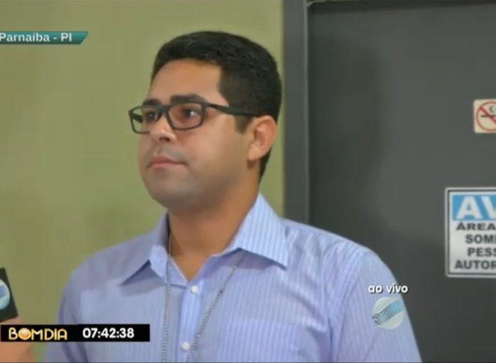 Diretor Frederico Augusto (Crédito: Reprodução/ TV Meio Norte)