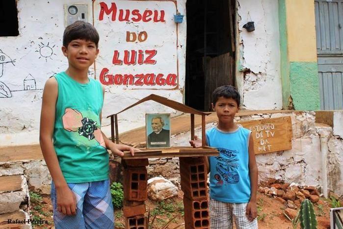 Museu criado por garoto de 10 anos em homenagem a Luiz Gonzaga (Crédito: Rafael Pereira)