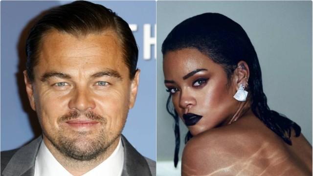 Leonardo DiCaprio e Rihanna  (Crédito: Reprodução)