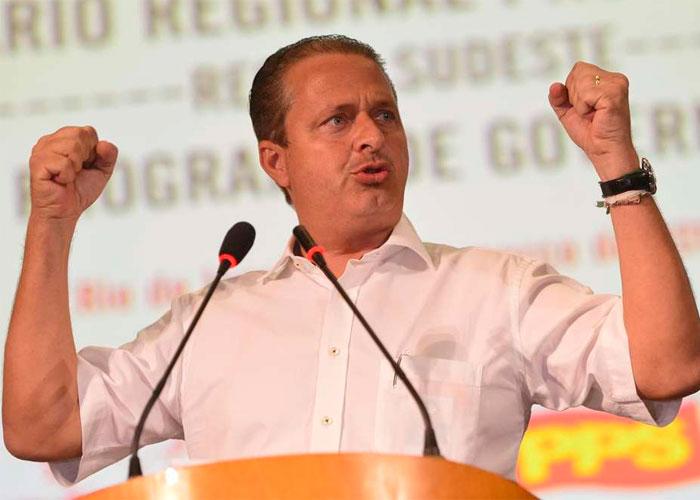 Eduardo Campos morreu em 2014 (Crédito: Divulgação )