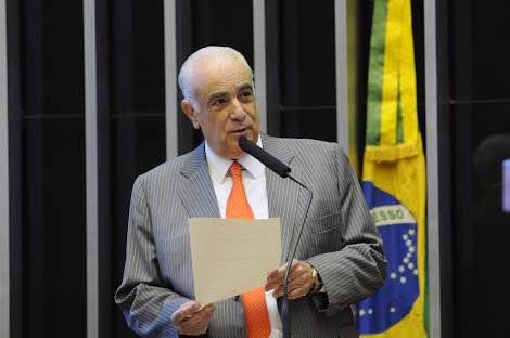 ministro dos transportes e vice presidente do PR nacional Antonio Carlos Rodrigues  (Crédito: Assessoria)