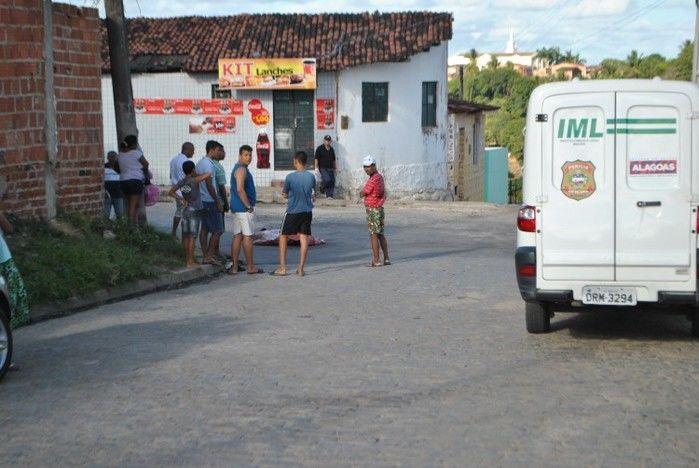 Henrique Local onde Ricardo Gonzaga dos Anjos foi morto