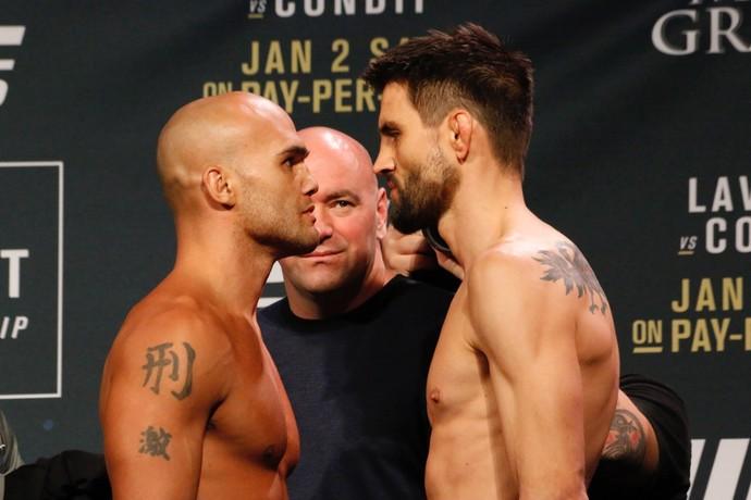 Lawler e Condit se enfrentam neste sábado, dia 02 de janeiro, em Las Vegas, nos Estados Unidos