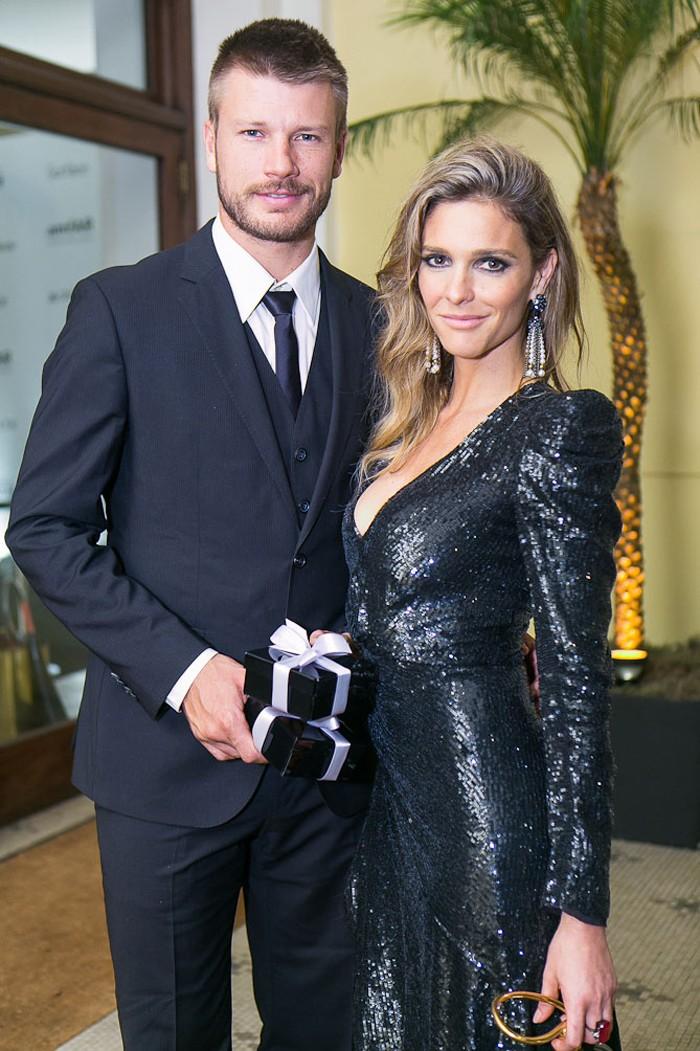 Fernanda Lima e Rodrigo Hilbert (Crédito: Reprodução)