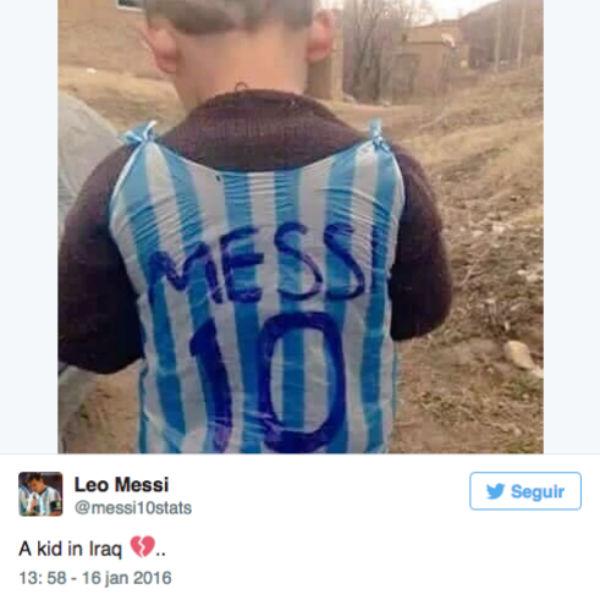 Twitter Messi (Crédito: Reprodução)