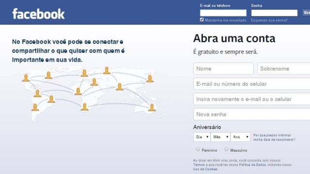 Página do facebook (Crédito: Divulgação )