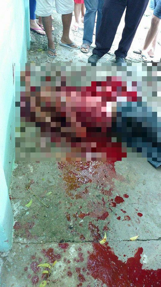 Assaltante morto na zona Sudeste (Crédito: Reprodução/Plantão Policial Piaui)