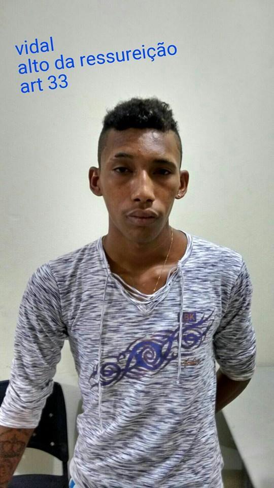 Vidal já tinha sido preso diversas vezes (Crédito: Reprodução/Plantão Policial Piaui)