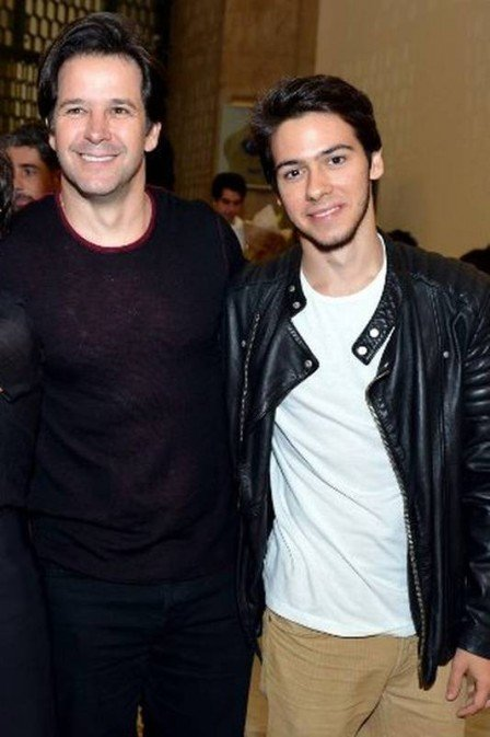 Murilo Benício e Antonio  (Crédito: Cristina Granato)