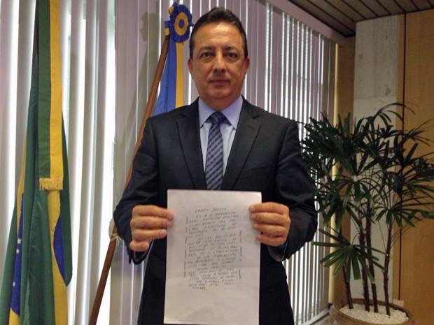 DF:Carta com ameaças é entregue ao Presidente do Tribunal de Contas