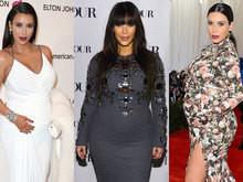 Kim Kardashian ganhou 27 quilos na gravidez e revela dieta