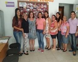 Equipe do CRAS se reúne com Prefeita para planejar ações para 2016