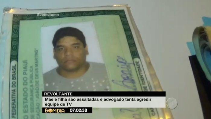 Dinheiro das vítimas foi recuperado com acusado (Crédito: Reprodução/TV Meio Norte)