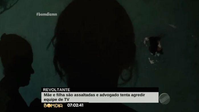Vítimas relatam momento de terror (Crédito: Reprodução/TV Meio Norte)