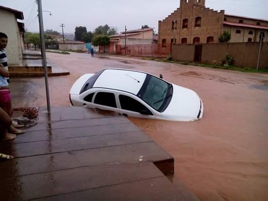 Chuva em Oeiras (Crédito: Divulção)